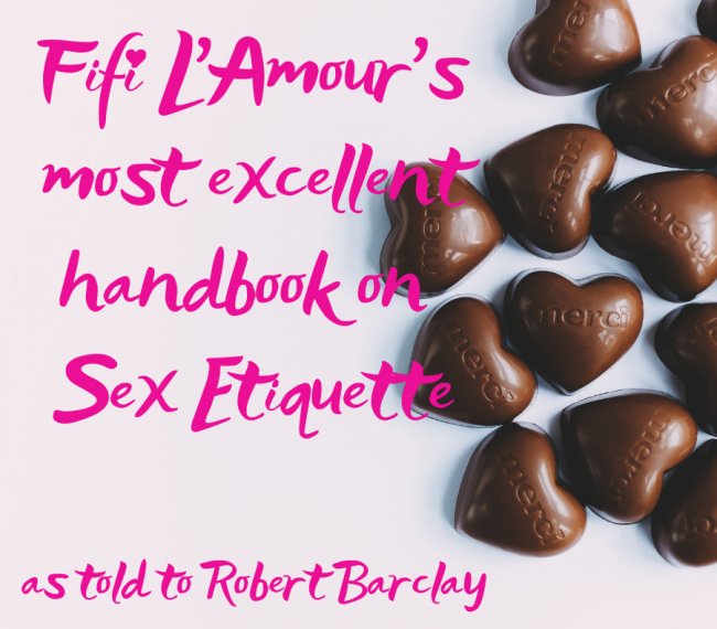 Fifi L'Amour talks to Robert Barclay