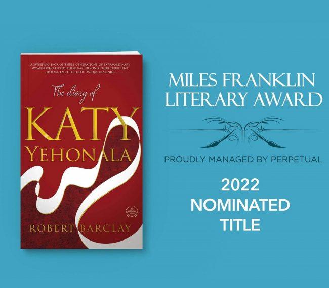 Miles Franklin Award for Diary of Katy Yehonala